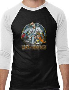 Worm of Grooviness Men's Baseball ¾ T-Shirt