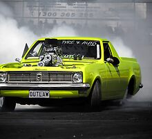 OUTLAW Burnout by VORKAIMAGERY