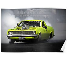 OUTLAW Burnout Poster