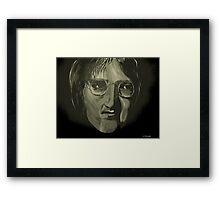 John Lennon 4 Framed Print