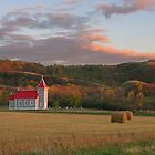 Valley Church at Sunset by Rod J Wood