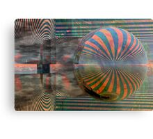 Stripes Metal Print