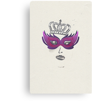 Queen of the Opera Canvas Print