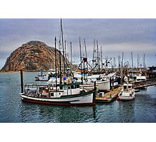 Docked at the Rock Photographic Print