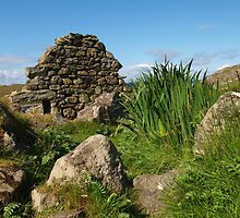 Blackhouse Ruin at Gearrannan by kalaryder