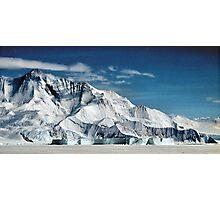 Transantarctic Range Photographic Print