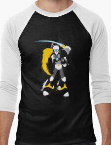 Copy Zero splattery design Men's Baseball ¾ T-Shirt