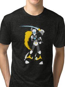 Copy Zero splattery design Tri-blend T-Shirt