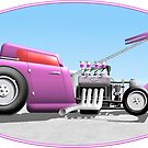 Purple Passion 32 Ford Coupe by Michael McKellip