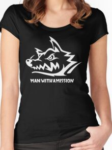 Man With A Mission Women's Fitted Scoop T-Shirt
