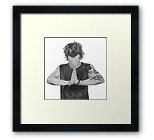 Harry Styles Drawing Framed Print