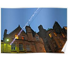 Lights in Edinburgh Poster