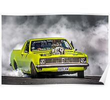 OUTLAW Tread Cemetery Burnout Poster