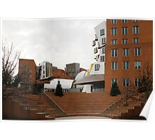 Stata Center, MIT by Frank O. Gehry Poster