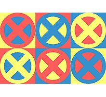 X-Men Pastel Triad Photographic Print