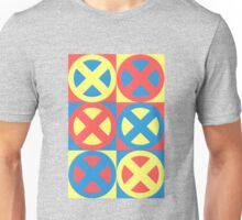 X-Men Pastel Triad Unisex T-Shirt