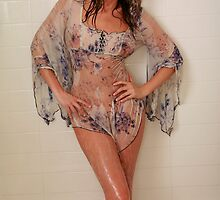Jade in the Shower by jadeamber