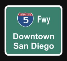 INTERSTATE 5: DOWNTOWN SAN DIEGO by SOL  SKETCHES™