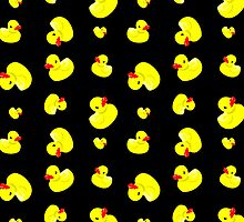 Rubber duck iPhone Case by YingDude