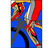Tour De France Legs Photographic Print