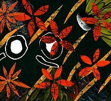 Flowers in Wind by Elizabeth Izzo