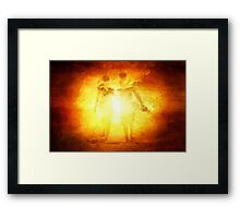 Way To Heaven Framed Print