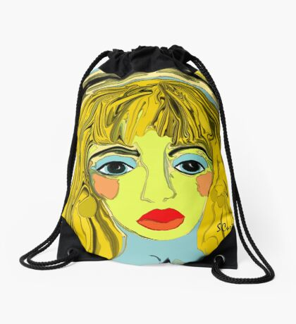 Alice Wonders Drawstring Bag