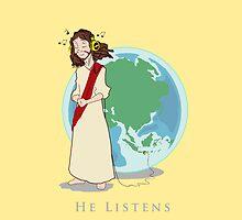 He Listens by kikkawa