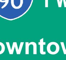 INTERSTATE 90: DOWNTOWN CHICAGO Sticker