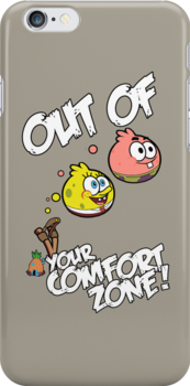 Out Of Your Comfort Zone ! Spongebob and Patrick do by kikkawa