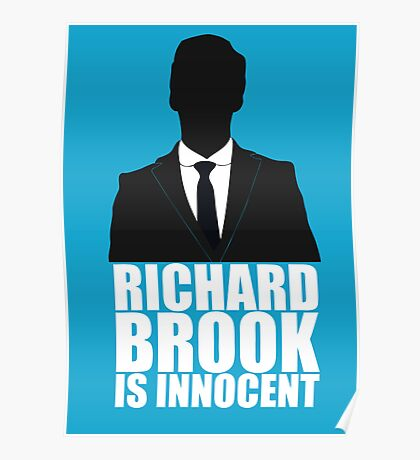 Richard Brook is Innocent Poster