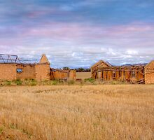 Remains of another Time - Sedan, Murraylands, South Australia by Mark Richards