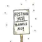 Festivus Yes, Bagels NO! by Kay-Trickpie