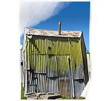corrugated iron shack Poster