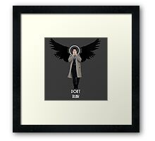 Weeping Cas Framed Print