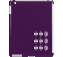 Classic White Design iPad Case/Skin