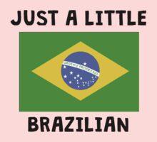 Just A Little Brazilian Kids Tee