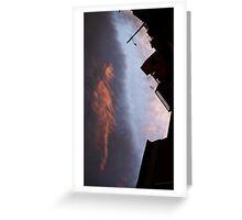 There is someone in the sky 01 Greeting Card
