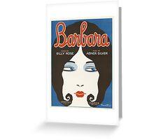 BARBARA (vintage illustration) Greeting Card