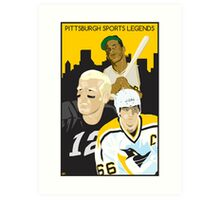 Pittsburgh Sports Legends Art Print