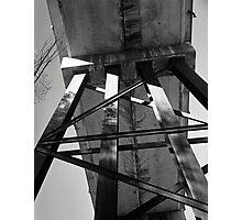 Bridge Underside Photographic Print