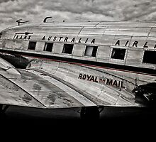 DC-3 Side profile by naemick