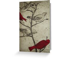 The Nostalgia of Birds Greeting Card