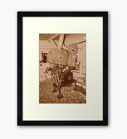 projector 35mm Framed Print