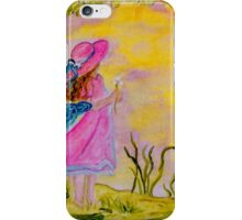 Pink Hat iPhone Case/Skin