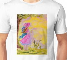 Pink Hat Unisex T-Shirt