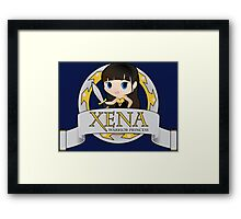 XENA the Warrior Princess Framed Print