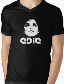 EDIE (Large) Mens V-Neck T-Shirt