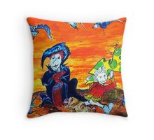 Capture Throw Pillow