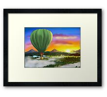 Birthday Balloon Framed Print